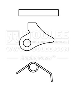 300 0910 Trigger Kits For Safety Hook drawing
