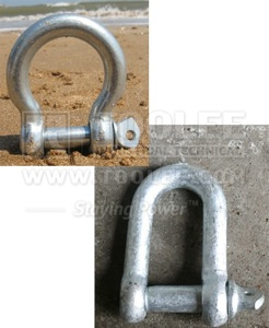300 7012 Deck Lashing Shackle