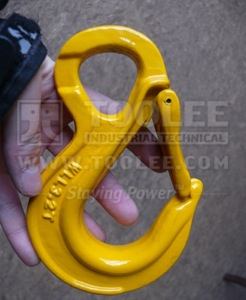 300 1227 Sling Hook Eye Type with Heavy Duty Safety Latch France type G80