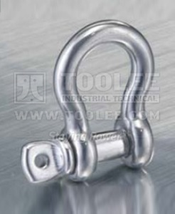 300 5704 Stainless Steel Bow Shackle Screw Pin US SPEC