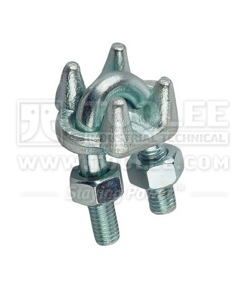 300 2105 Galv Malleable Wire Rope Clip Type A