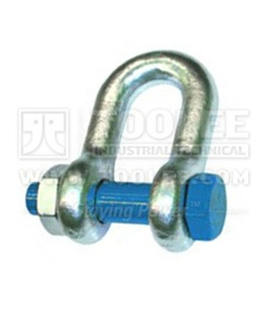 500 1114 Dee Shackle With Safety Pins  Nut Grade S AS2741 6 1
