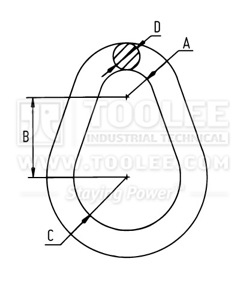 300 1511 Pear Shape Ring Drawing