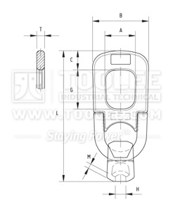 300 1262 Lifting Clutch Drawing