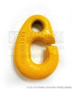 300 500 1419 Fishing G Hook with Tapered Opening WM