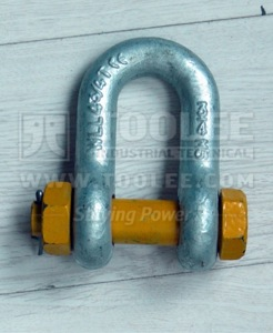 300 1104 Chain Shackle Bolt Type With Safety Pin  Nut G2150 6 1
